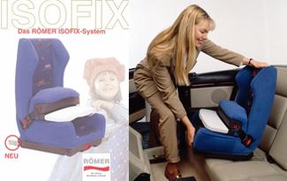 El sistema Isofix cumple 20 años