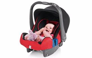 La primera silla auto del recién nacido