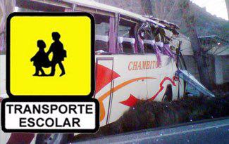 La Seguridad Infantil en el Transporte Escolar
