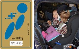 El Plus Test para sillas auto de espaldas a la marcha