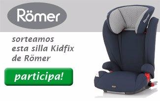 Participa y gana una sillita de seguridad Römer Kidfix