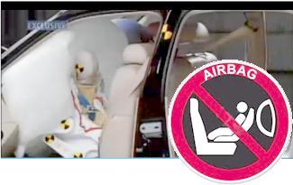 Los niños frente al airbag