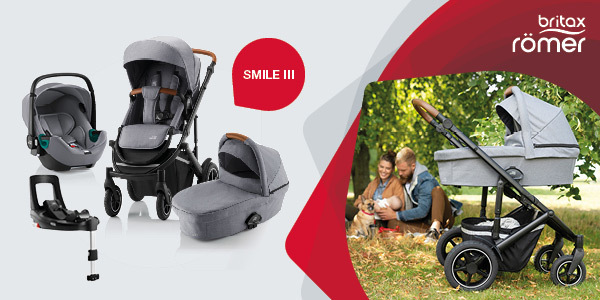 Cochecito para bebé SMILE III