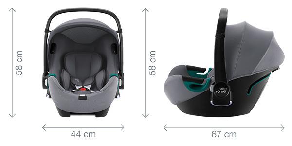 BABY-SAFE iSENSE - Dimensiones