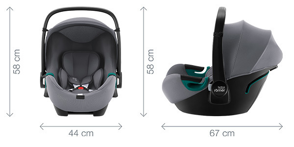 BABY-SAFE 3 i-SIZE - Dimensiones