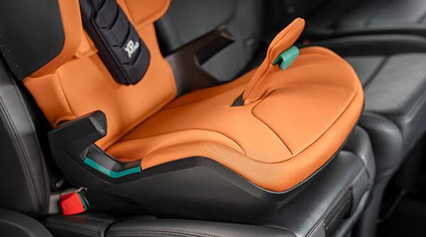 KIDFIX i-SIZE - Área de asiento rediseñada