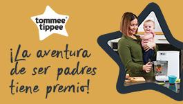 Promoción 'La aventura de ser padres tiene premio' de Tommee Tippee