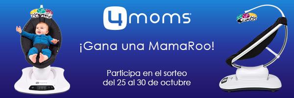 4moms sortea una hamaca MamaRoo