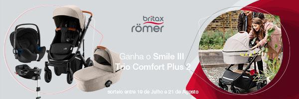 Britax Römer sorteia o Trio Comfort Plus 2