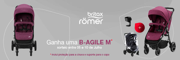 Britax Römer sorteia um B-AGILE M