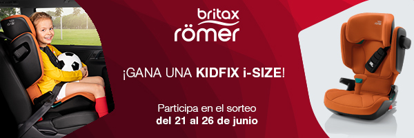 Britax Römer sortea una KIDFIX i-SIZE