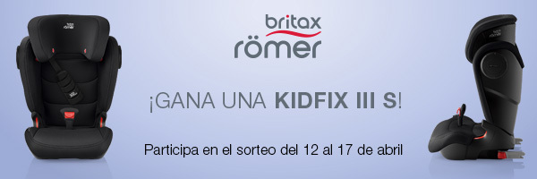 Britax Römer sortea una KIDFIX III S