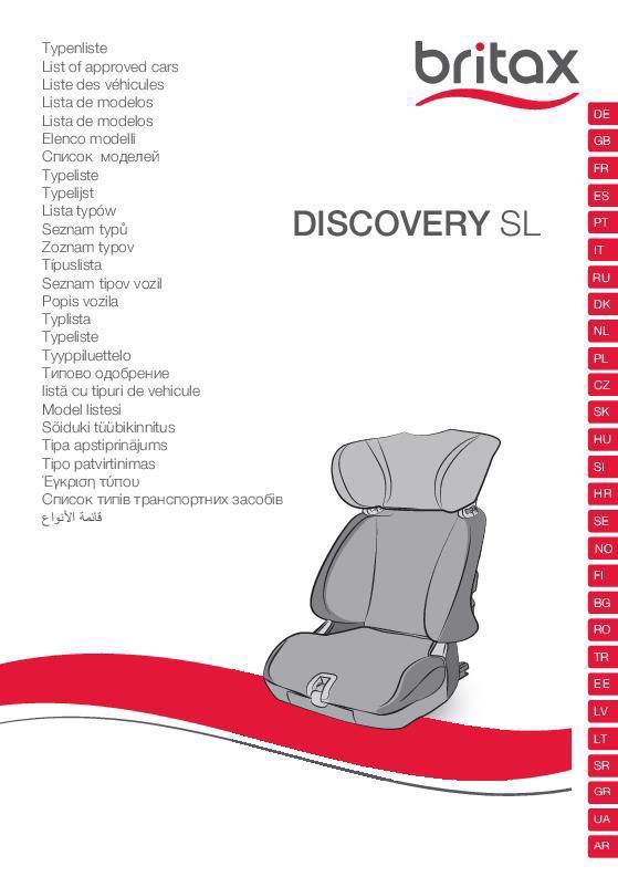 Vehículos homologados Discovery SL