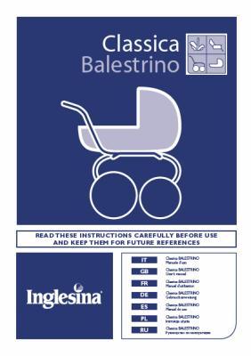 INGLESINA CLASSICA-manual del chasis BALESTRINO