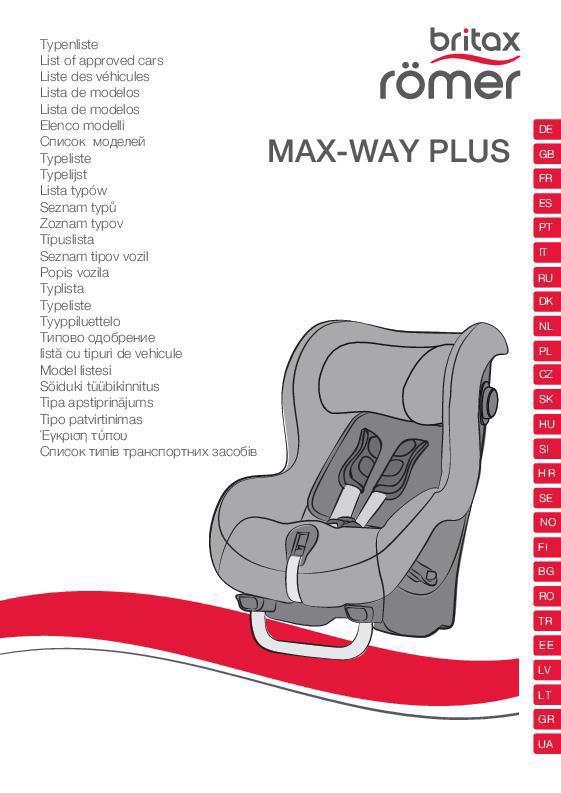 Listado vehículos compatibles Max Way Plus