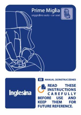 Manual de instrucciones Prime Miglia
