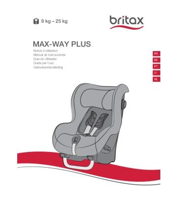 Instrucciones Max-Way Plus