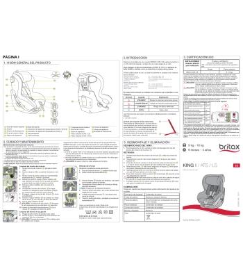 Instrucciones King II/LS/ATS