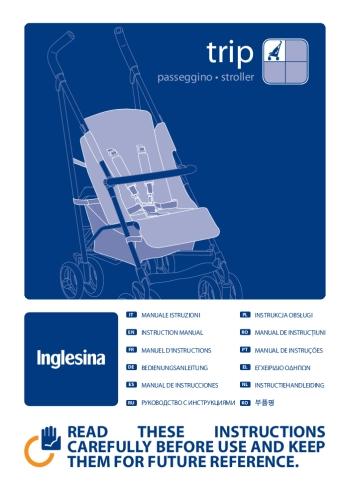 Manual de Instrucciones Inglesina Trip